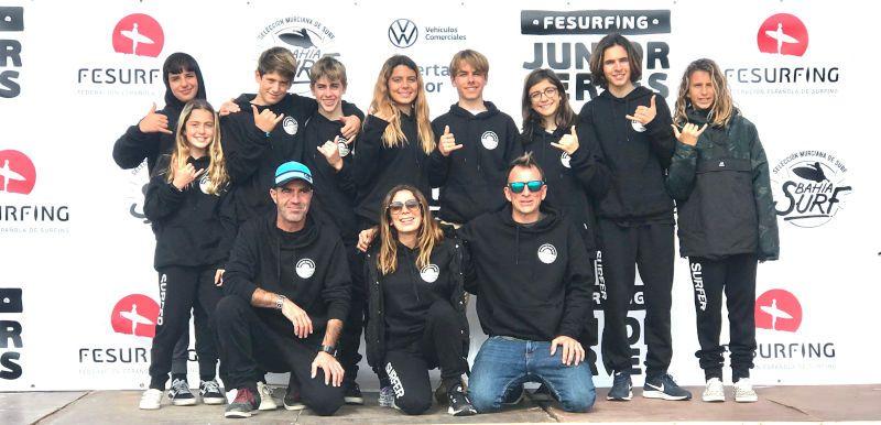 CUBELLES SURF CLUB PRESENTE EN LA PRIMERA PRUEBA DEL CIRCUITO : @FESURFING JUNIOR SERIES : Bahía Junior Series